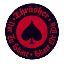 Thrasher Oath - Black / Red sticker