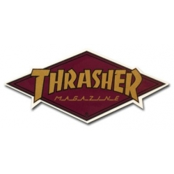 Thrasher Diamond - Purple sticker