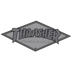 Thrasher Diamond - Gray sticker