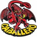 Pin Caballero Dragon