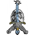 Pin Skull & Sword