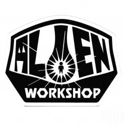Alien Workshop OG logo sticker