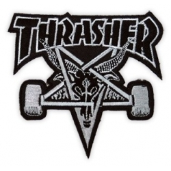 Thrasher Skategoat Black/Grey patch