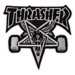 Thrasher Skategoat Preto / Cinza fragmento