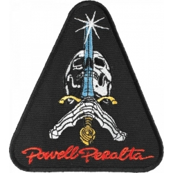 Powell Peralta Skateboards Skull & Sword patch
