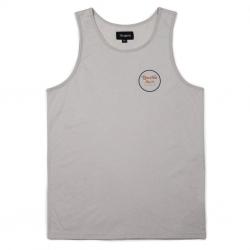 Brixton Wheeler Tank Top - Stone t-shirt
