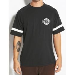 Brixton Newell - SS gestrickt - schwarz gewaschen t-shirt