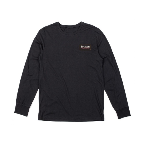 Palmer L / S Tee - Black