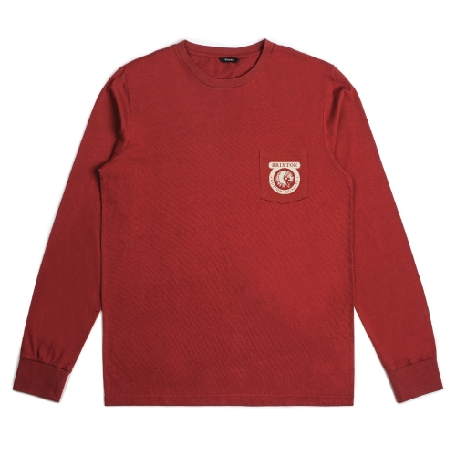 Native - L / S prem Tee - Brick