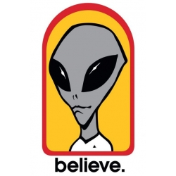 Alien Workshop Believe 3 sticker