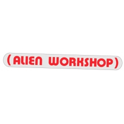 Alien Workshop Parenthesis - Red pegatina