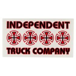 Independent Gestapeld sticker