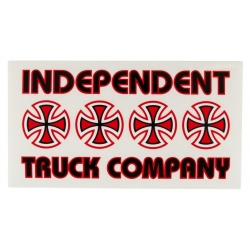 Independent Stacked sticker