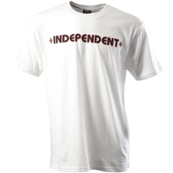 Independent Bar Cross - White t-shirt