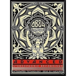 Obey Advanced Stereophonic Recordings sticker