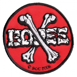 Powell Peralta Skateboards Cross Bones patch
