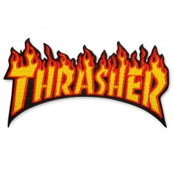 Thrasher Magazine Flame patch