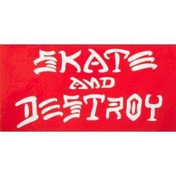 Thrasher Magazine Skate And Destroy - Red sticker