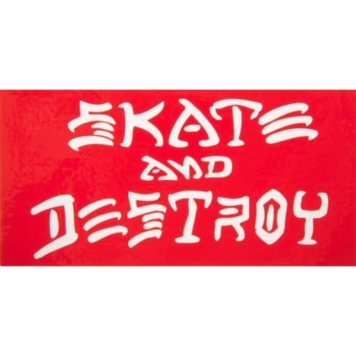 Skate And Destroy - Red