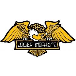Loser Machine Alleyway - Large sticker