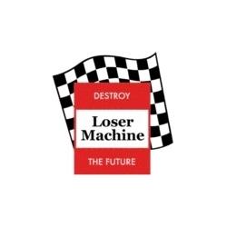 Loser Machine Vlag sticker