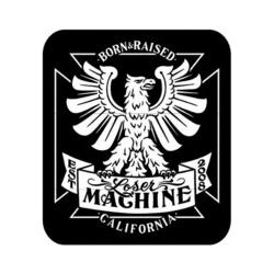 Loser Machine Born and Raised sticker