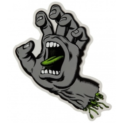 Santa Cruz Screaming Hand - Cool Grey - Small sticker