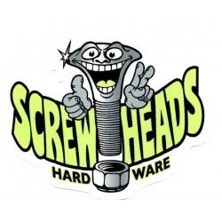 Haze Wheels ScrewHeads klein aufkleber