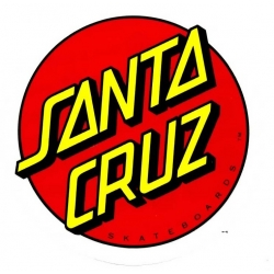 Santa Cruz Skateboards Classic Dot sticker