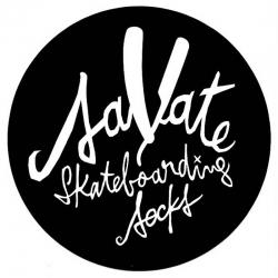 Savate Skateboarding Socks Savate Dot sticker