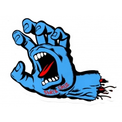 Santa Cruz Skateboards Screaming Hand Mid sticker