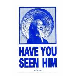 Have you seen him - blue