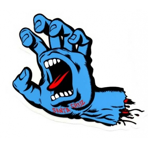 Screaming Hand Small
