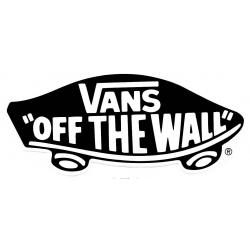 Vans Classic Off The Wall - Red sticker