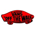 Classic Off The Wall - Black Red