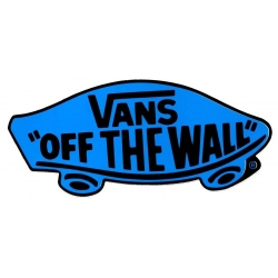 Vans Classic Off The Wall - Blue sticker