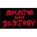 Skate And Destroy - Black Red
