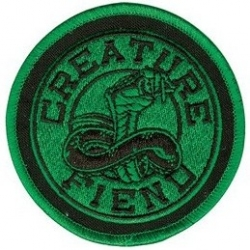 Creature Skateboards Cobra patch