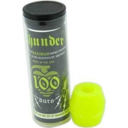 Thunder Tube 100du Neon Yellow erasers