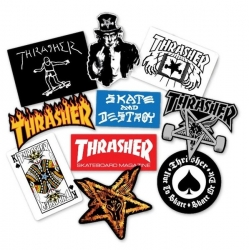 Thrasher Pack 10 stickers sticker