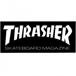 Thrasher Magazine Skate Mag - Black sticker