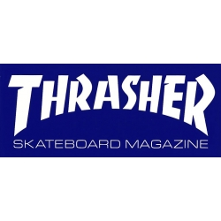 Thrasher Magazine Skate Mag - Blue - M sticker