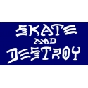 Skate And Destroy - Blue