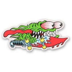 Santa Cruz Skateboards Slasher Sword Mid sticker