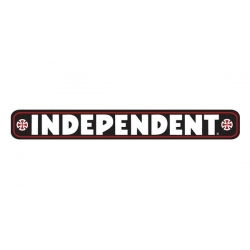 "Independent Trucks CO Bar Decal 8"" - Black sticker"