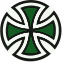 Cut Cross- Black/Green