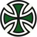 Cut Cross- Black / Green