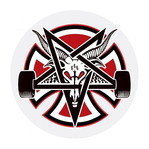 Pentagram Clear Mylar