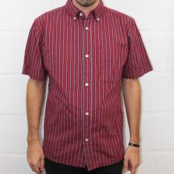 Brixton Cadet Burgundy shirt