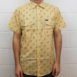 Brixton Ltd Memphis maize chemise